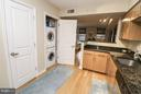 Stacked washer and dryer in unit! - 915 E ST NW #306, WASHINGTON