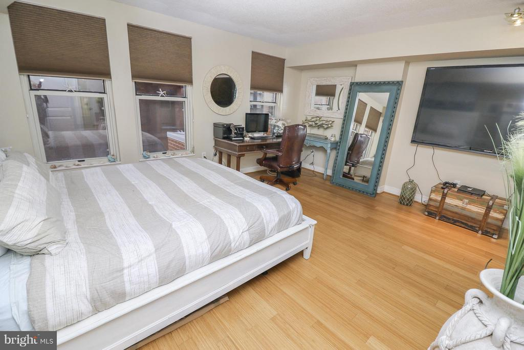 Studio holds king sized bed - 915 E ST NW #306, WASHINGTON