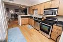 Kitchen has a gas stove for cooking - 915 E ST NW #306, WASHINGTON