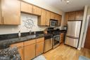 Large kitchen offers stainless appliances - 915 E ST NW #306, WASHINGTON