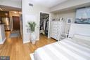 Large walk-in closet provides lots of storage - 915 E ST NW #306, WASHINGTON