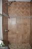 Bathroom in master bedroom - 7412 BRADDOCK RD, ANNANDALE