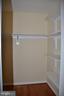 Walk-in closet - 7412 BRADDOCK RD, ANNANDALE