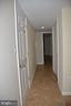 Basement hallway - 7412 BRADDOCK RD, ANNANDALE