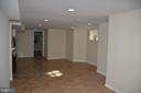 Family room - 7412 BRADDOCK RD, ANNANDALE