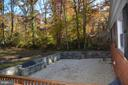Playing area for kids in backyard - 7412 BRADDOCK RD, ANNANDALE