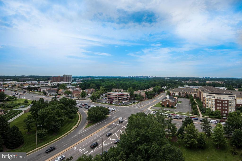 Unobstructed view - 3701 GEORGE MASON DR #1406N, FALLS CHURCH