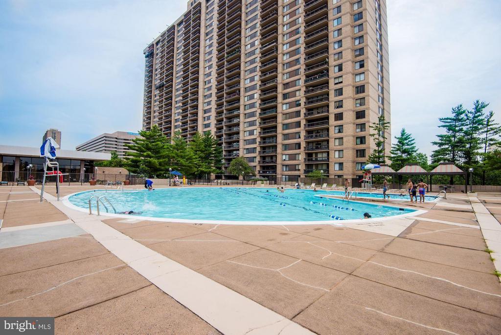 All in house amenities include olymplic pool - 3701 GEORGE MASON DR #1406N, FALLS CHURCH