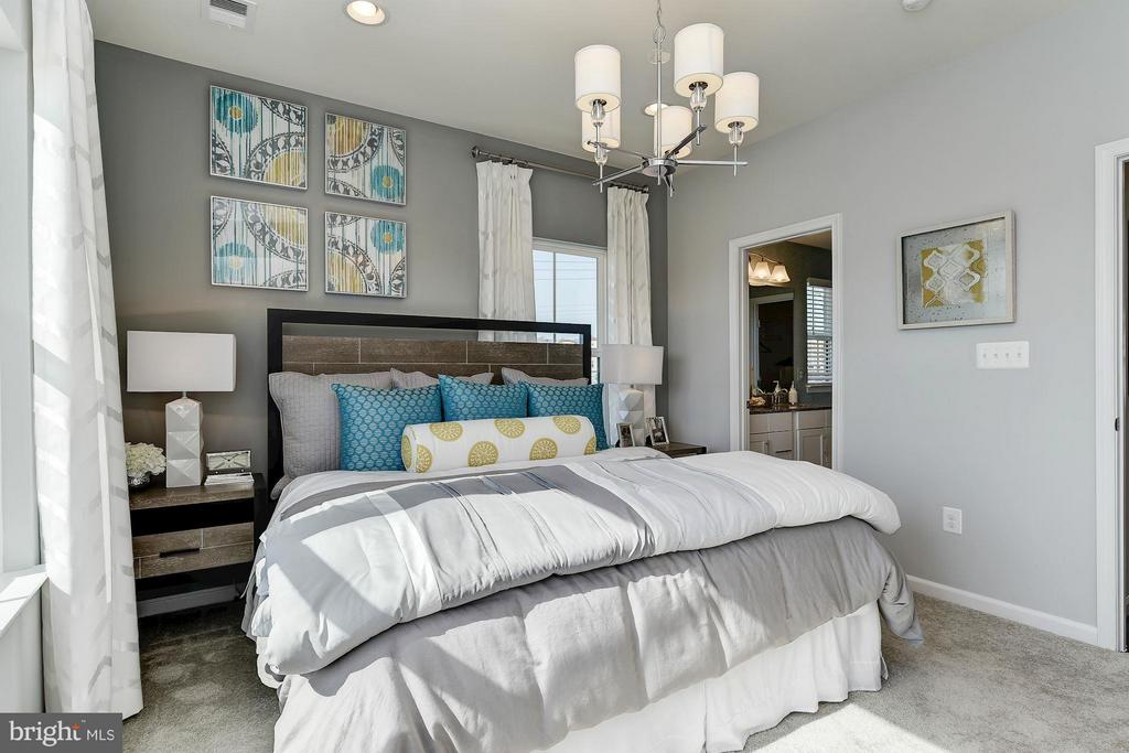 Bedroom (Master) - 3407 SENTINEL DR #508D, HYATTSVILLE