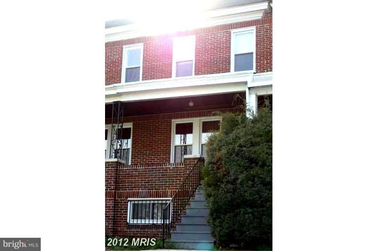 Photo of home for sale at 4014 Wilsby Avenue, Baltimore MD