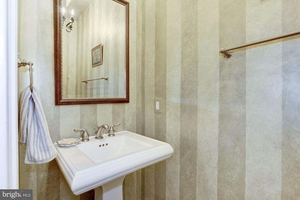 Powder room on main level - 4516 WINDSOR LN, BETHESDA