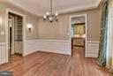 Vire from dining room to kithen - 4516 WINDSOR LN, BETHESDA