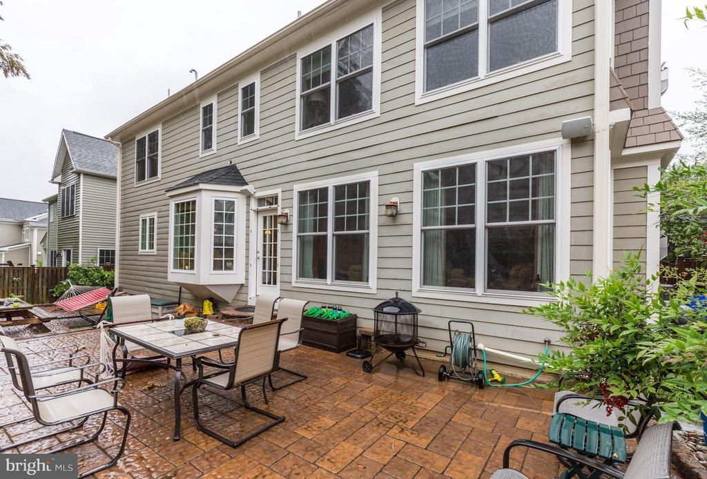 Spacious brick paver patio) - 4516 WINDSOR LN, BETHESDA