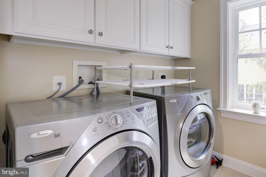 Second level laundry room - 4516 WINDSOR LN, BETHESDA