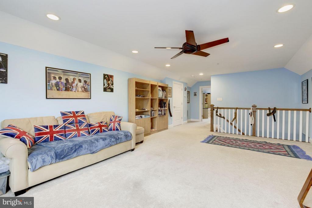 Fourth level recreation room. - 4516 WINDSOR LN, BETHESDA