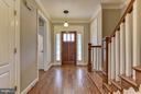Foyer - 4516 WINDSOR LN, BETHESDA