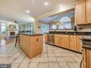 Gourmet kitchen with granite. - 9038 CLENDENIN WAY, FREDERICK