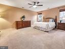 Master bedroom suite. - 9038 CLENDENIN WAY, FREDERICK