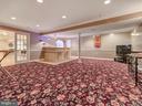 Fantastic game/media room. - 9038 CLENDENIN WAY, FREDERICK