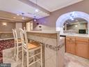 Enjoy the great entertaining space--complete w/bar - 9038 CLENDENIN WAY, FREDERICK