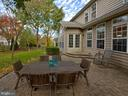 Mature trees provide a tranquil setting. - 9038 CLENDENIN WAY, FREDERICK