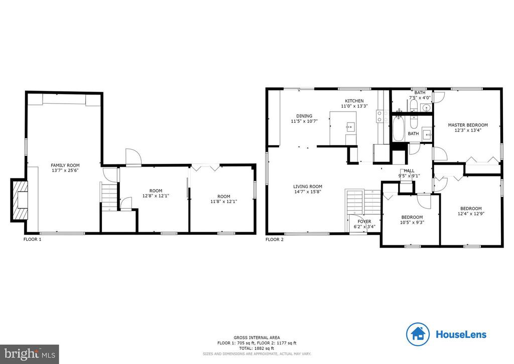 Floor Plan - 2511 PEMBROKE CT, WOODBRIDGE