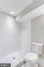 Full bath 3 lower level - 616 14TH ST NE, WASHINGTON