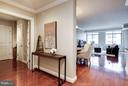 Open Foyer with 1/2 bathroom - 3625 10TH ST N #505, ARLINGTON