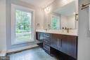 Master bath with oversize shower & dbl vanity - 116 FEDERAL RD, LOCUST GROVE