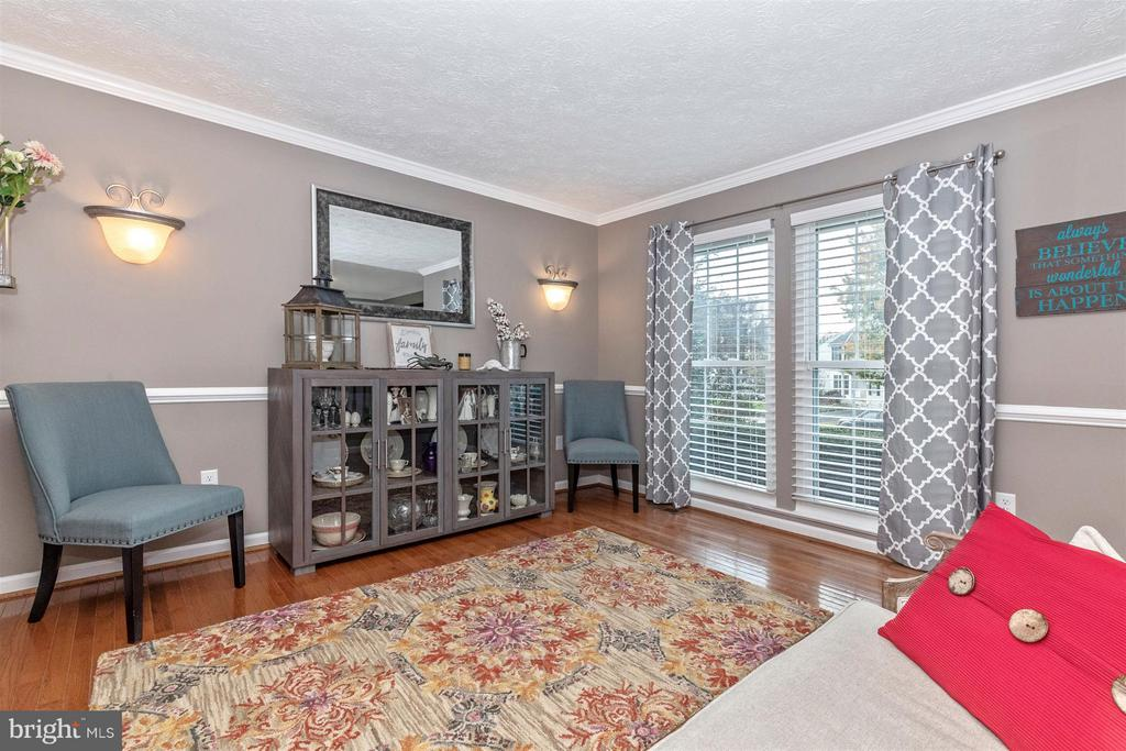 Living Room-Large Window W/Lots Of Natural Light - 6045 DOUGLAS AVE, NEW MARKET