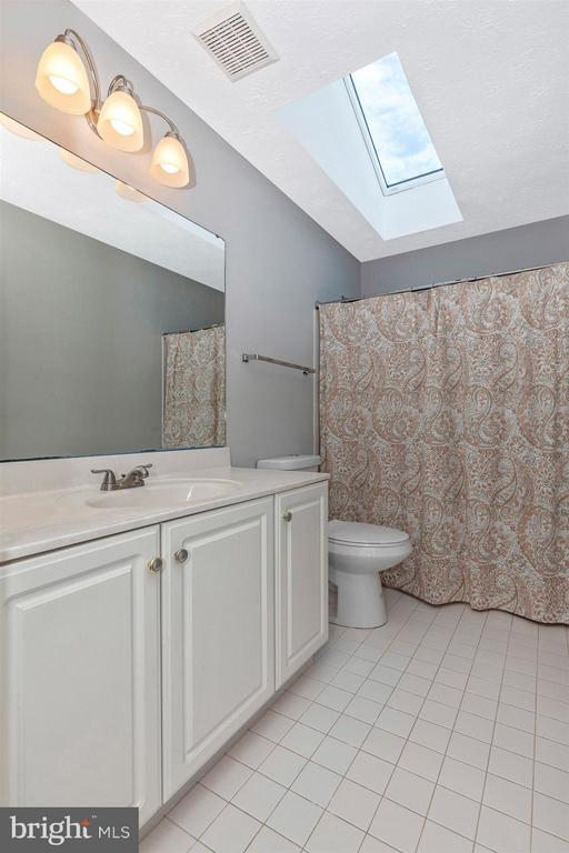 Upper Level Hall Full Bathroom - 6045 DOUGLAS AVE, NEW MARKET