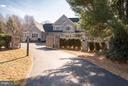 Drive up view shows Gated entry - 10603 CREAMCUP LN, GREAT FALLS
