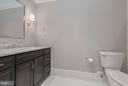 lower level full bath in bedroom - 10603 CREAMCUP LN, GREAT FALLS