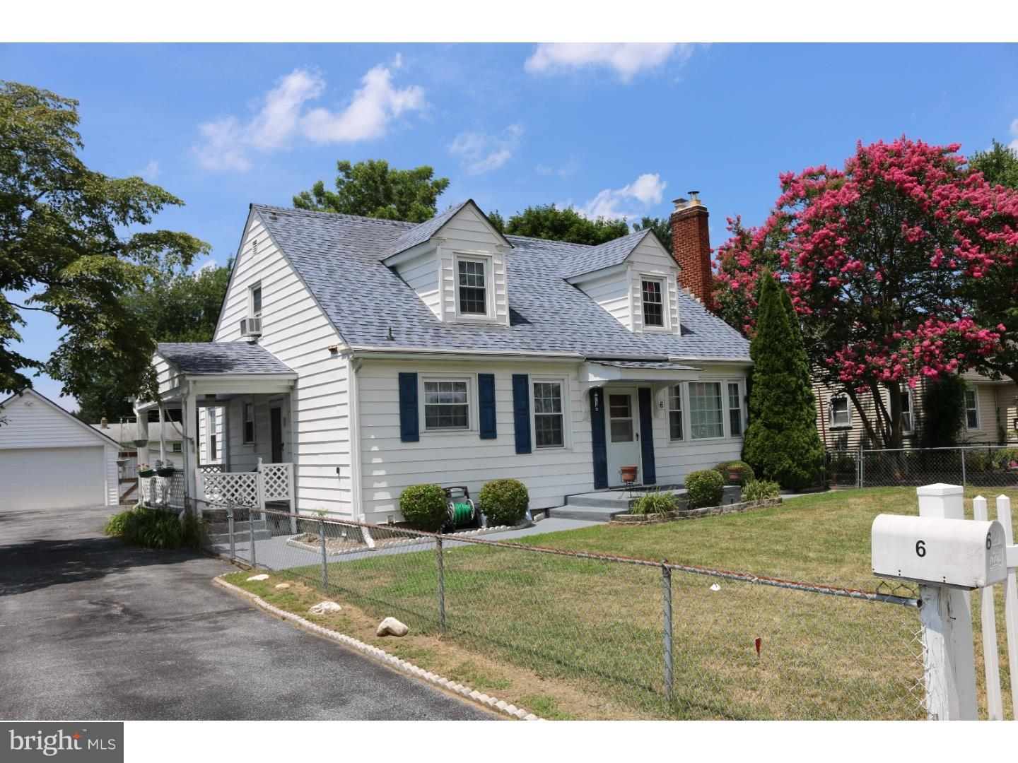 Single Family Home for Rent at 6 WESLEY Street Camden, Delaware 19934 United States