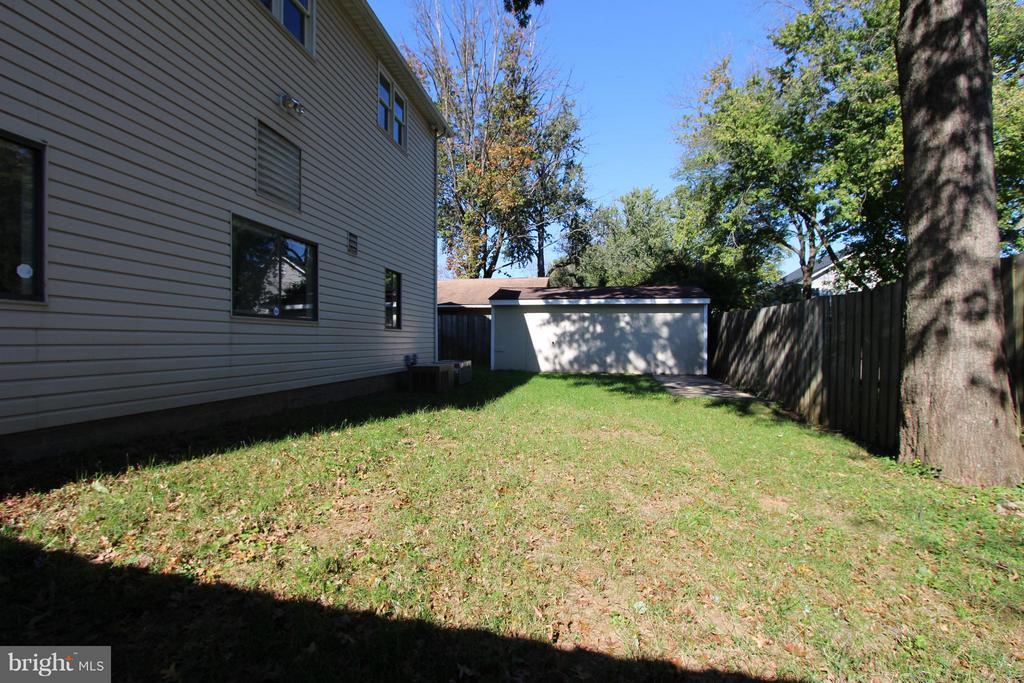 Being  a corner lot side yard too! - 1915 ANDERSON RD, FALLS CHURCH