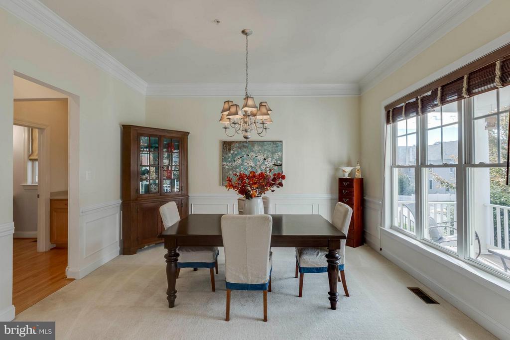 Dining Room - 23359 RAINBOW ARCH DR, CLARKSBURG