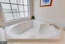 Master Bath with Large soaking tub - 23359 RAINBOW ARCH DR, CLARKSBURG