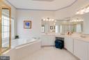Master bath- Double Vanities - 23359 RAINBOW ARCH DR, CLARKSBURG