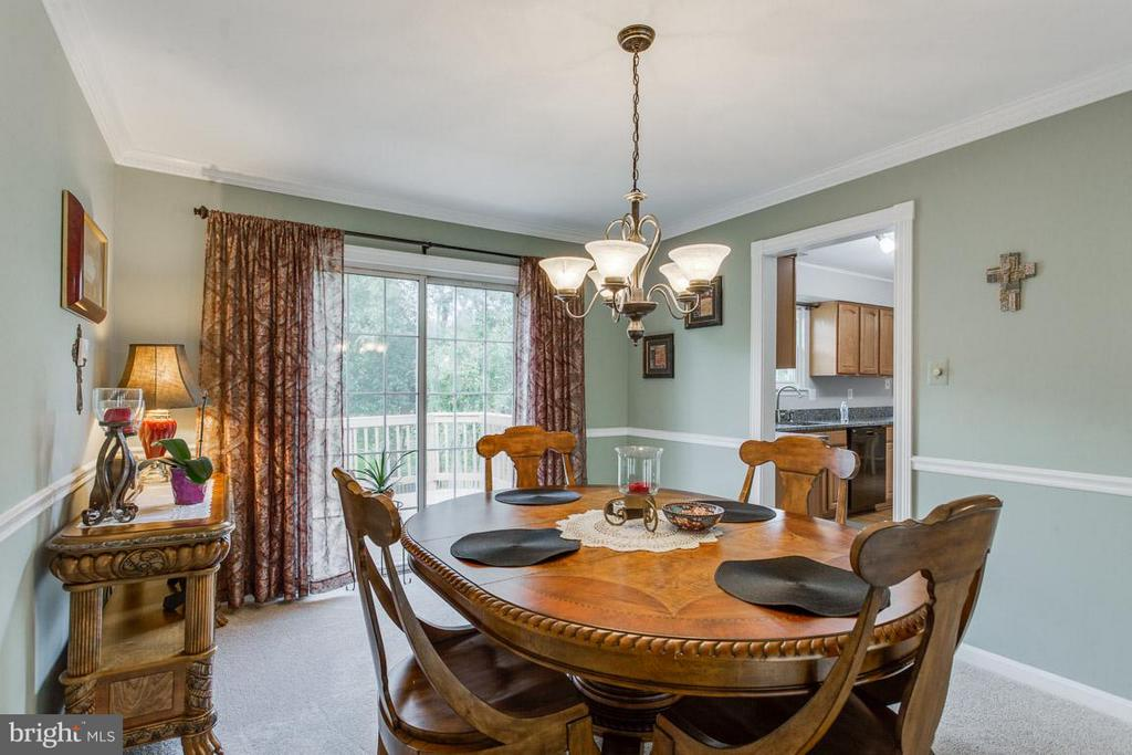 Easy entry from the kitchen for entertaining - 4338 CUB RUN RD, CHANTILLY