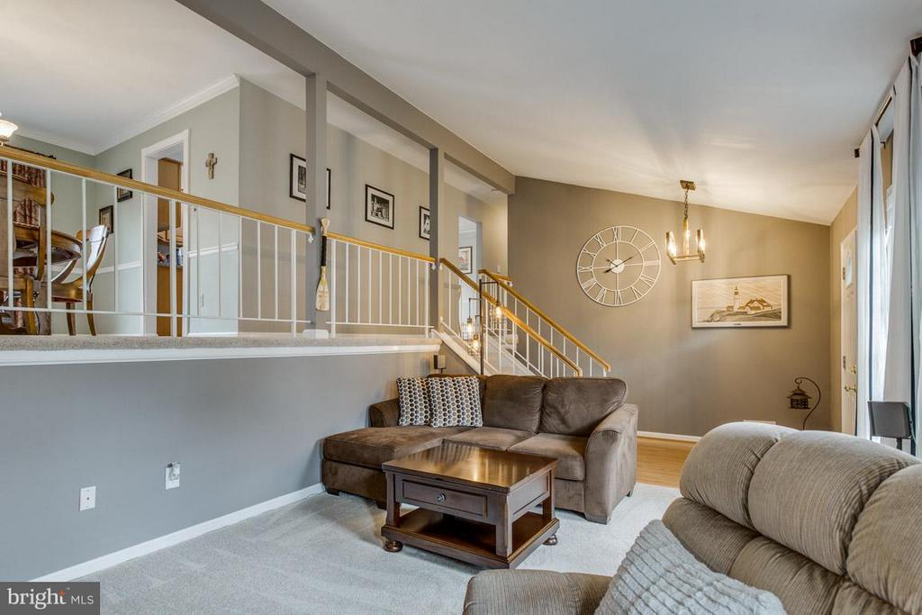 Features vaulted ceilings and updated fixtures - 4338 CUB RUN RD, CHANTILLY