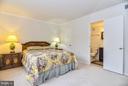Master Bedroom w/en-suite Bath and walk-in closet - 4420 BRIARWOOD CT N #41, ANNANDALE