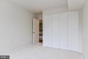 3rd Bedroom with large reach-in closet - 4420 BRIARWOOD CT N #41, ANNANDALE