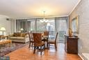 View from Kitchen - 4420 BRIARWOOD CT N #41, ANNANDALE