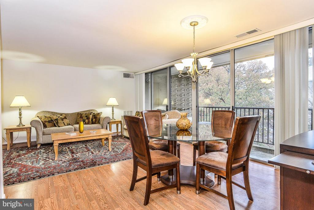 View from Hallway - 4420 BRIARWOOD CT N #41, ANNANDALE