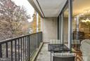 Opposite end of Balcony - 4420 BRIARWOOD CT N #41, ANNANDALE