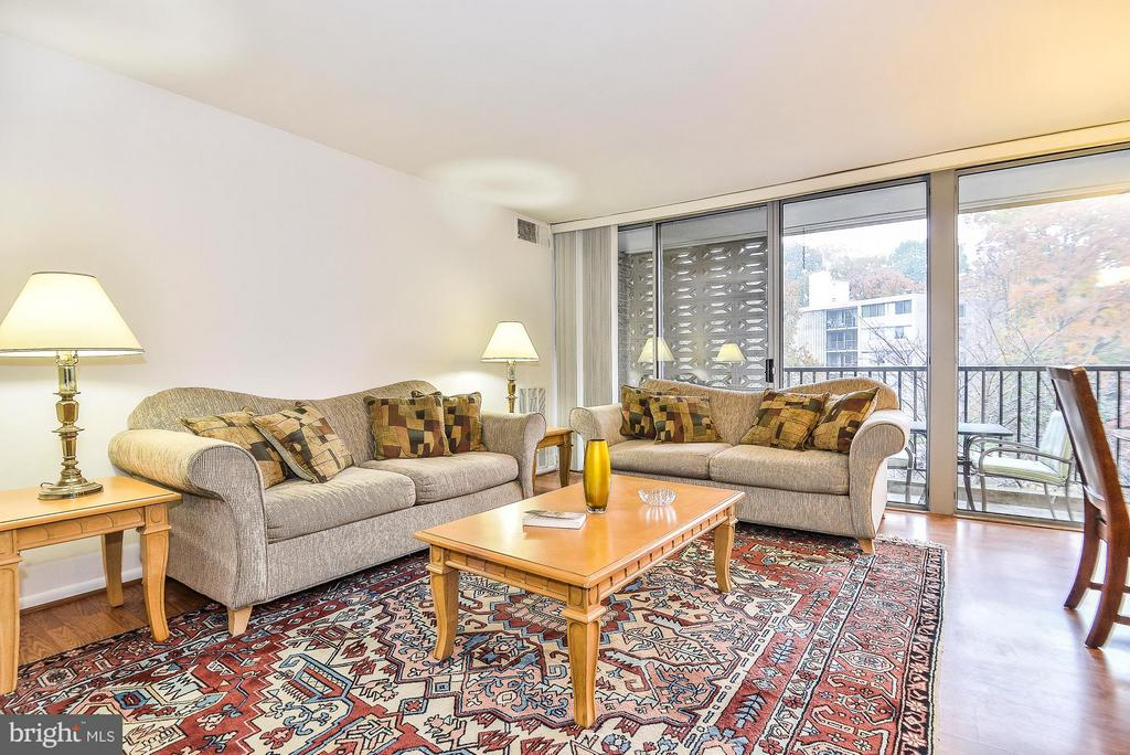 Living Room - 4420 BRIARWOOD CT N #41, ANNANDALE