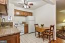 another view into Kitchen - 4420 BRIARWOOD CT N #41, ANNANDALE