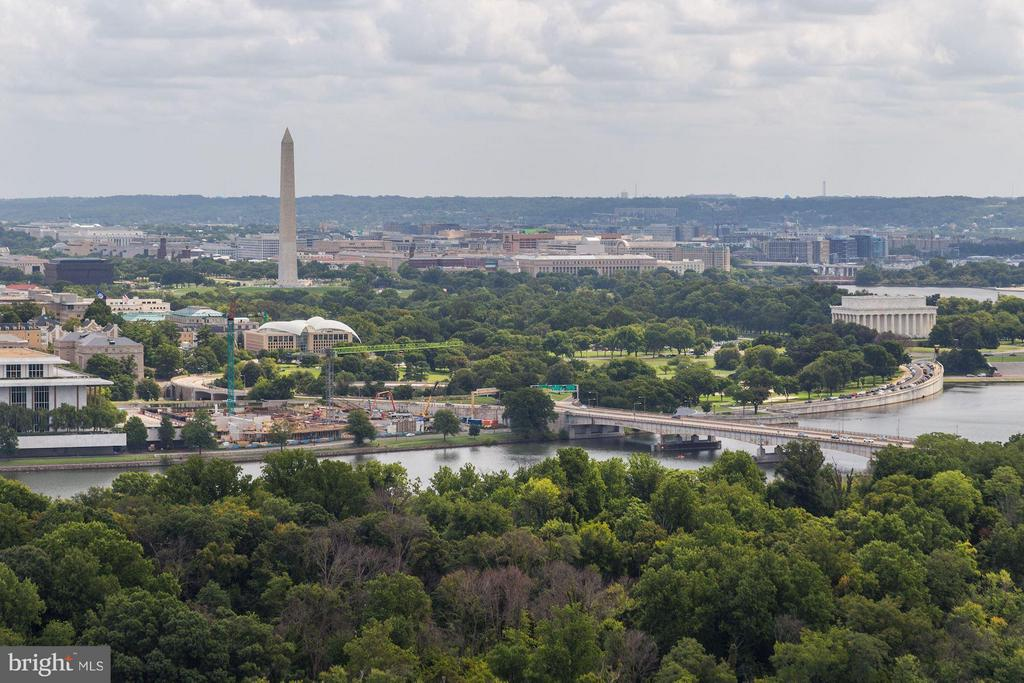 Views from the Rooftop Terrace - 1111 19TH ST N #2107, ARLINGTON