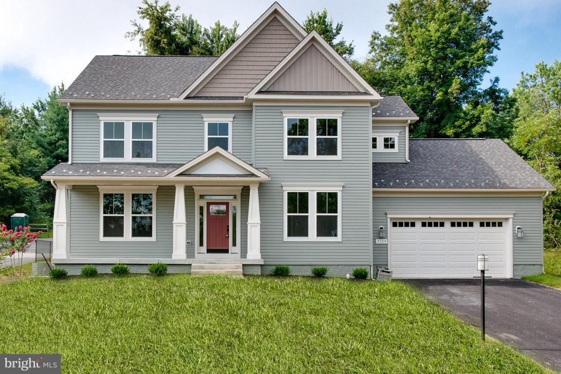 Photo of home for sale at 6718 Oakridge Road, New Market MD