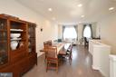 Dining Room with Gorgeous Wood Floors - 19959 MAJOR SQ, ASHBURN